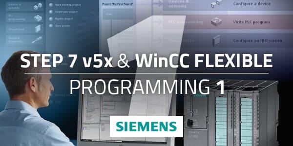 Siemens Step 7 v5.x and WinCC Flexible Programming 1