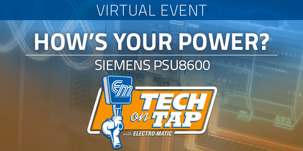 Electro-Matic Tech on Tap: PSU8600 - How's Your Power?